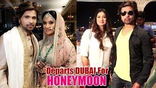 Newlyweds Himesh Reshammiya & Sonia Kapoor Headed to Dubai for HONEYMOON