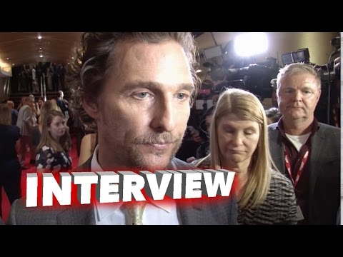 Sing: Matthew McConaughey Exclusive Interview TIFF Premiere (2016)