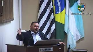13ª Sessão Ordinária - Vereador Walmir Chaveiro