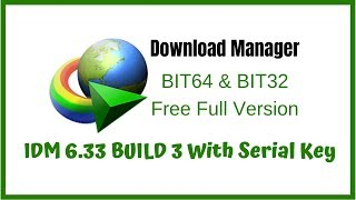 Gambar cover Internet Download Manager IDM 6.33 Build 3 Activate With Serial Key Free Full Version Lifetime 2019