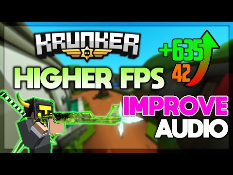 My KRUNKER SETTINGS! Improve FPS + Sound - Krunker.io