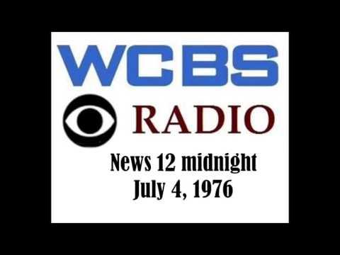 CBS RADIO NEWS, 12 MIDNIGHT, JULY 4, 1976