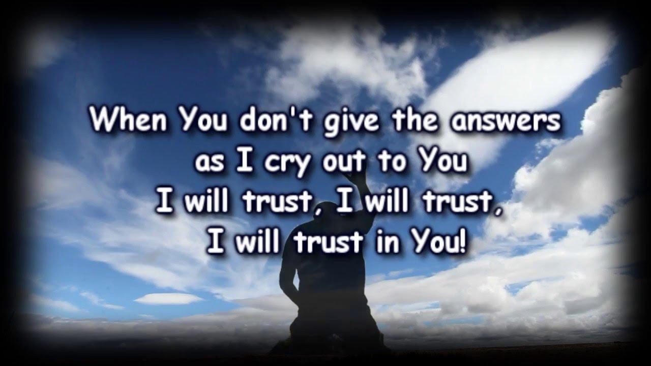 Trust In You - Lauren Daigle - Worship Video with lyrics ...