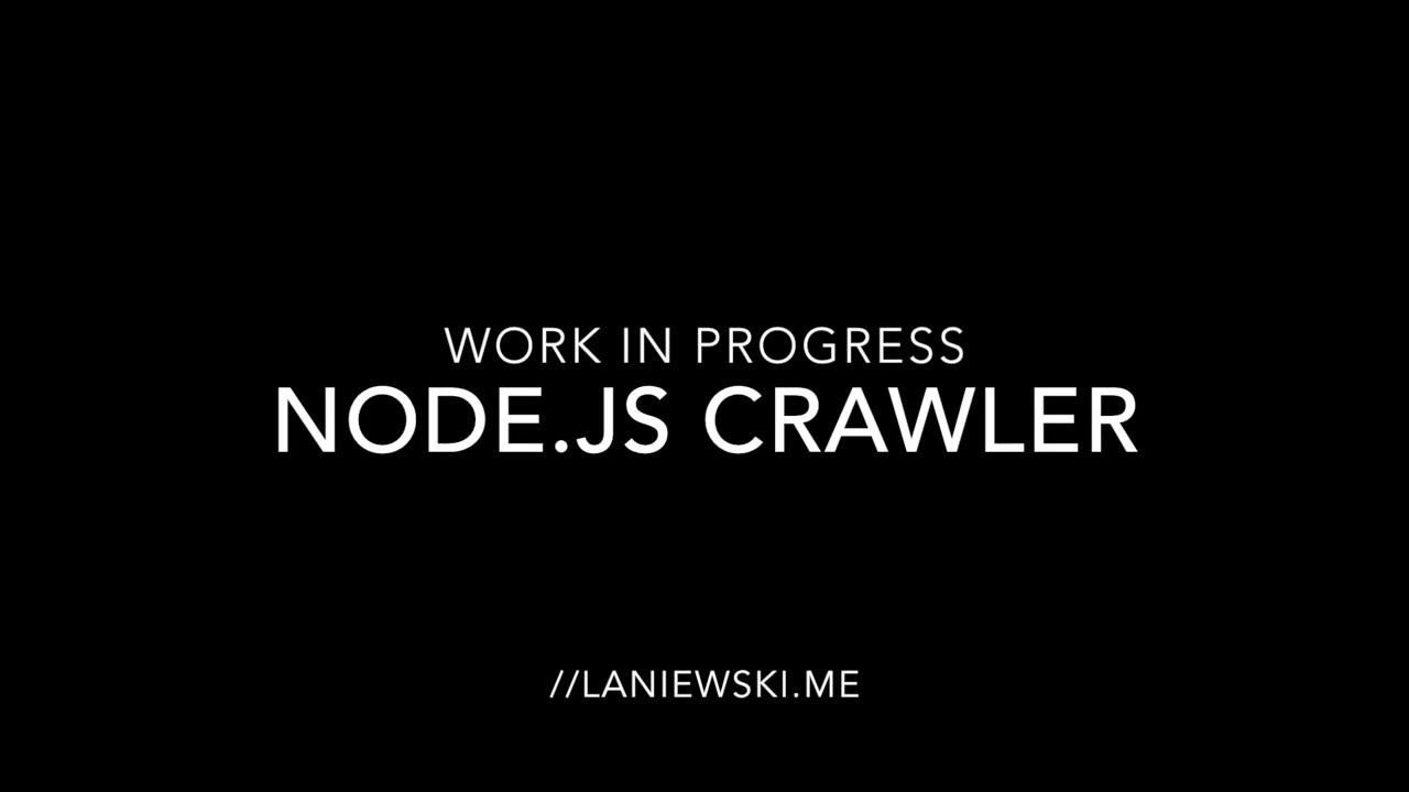 Crawler Npm