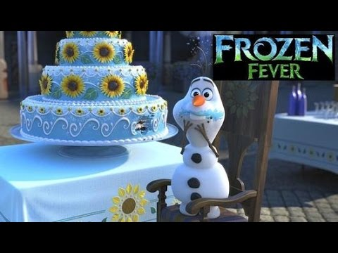 Frozen Disney Olaf Wedding Cake Videos Puzzle Fever For Kids You
