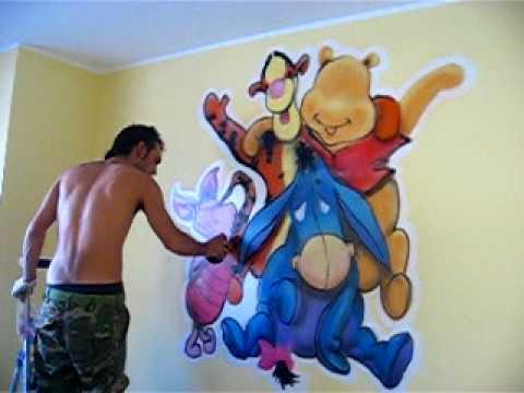 Winnie the pooh 2 youtube for Cuarto winnie pooh