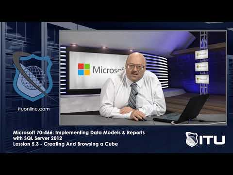 Microsoft 70 466 Implementing Data Models & Reports With SQL Server 2012 Lesson 5 3 Creating And Bro