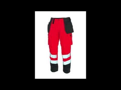 Mascot Handwerkerhose Warnschutz Britelo
