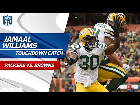 Green Bay's Fake Punt Sets Up Hundley's TD Pass to Williams! | Packers vs. Browns | NFL Wk 14