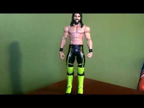 "WWE Custom Seth Rollins Universal belt for 6/"" Action figure not included"