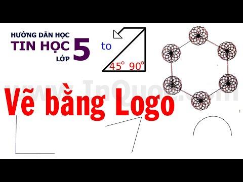 Hướng dẫn thực hành phần mềm Logo (Sách Bài Tập) 🐢 Bài 4 🐢 Chủ đề 4 🐢 Tin Học Lớp 5