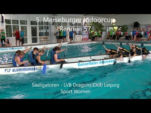 Saaligatoren - LVB Dragons Club Leipzig (Sport Women) | Rennen 57 - 5. Merseburger Indoorcup