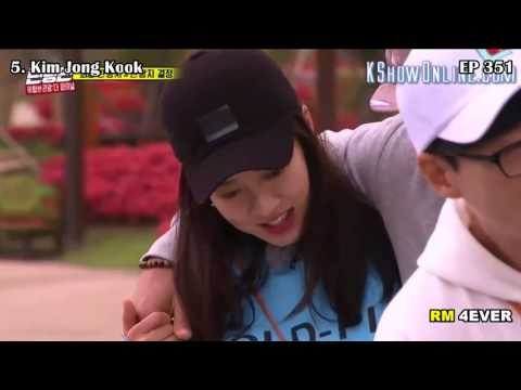 Song Ji Hyo Top 10 Favourite Loveline on Running Man