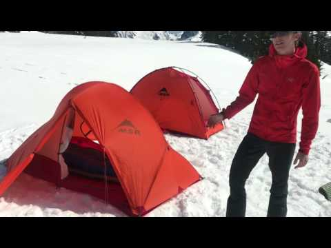 Tents for Mountaineering