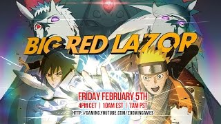 Playing Naruto Shippuden: Ultimate Ninja Storm 4 on Friday Feb 5th at 4pm CET