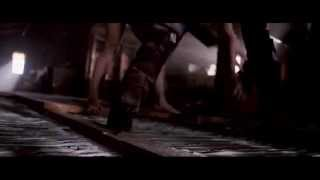 Beyonce Knowles, boot shots in Obsessed (Brown suede knee high boots)