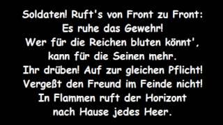 Soldatenlied (Text: Erich Mühsam) - Christoph Holzhöfer