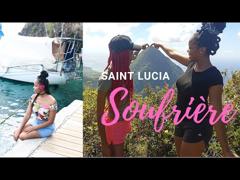 BEST PLACE TO TRAVEL   TRAVEL VLOG   Saint Lucia SOUFRIERE