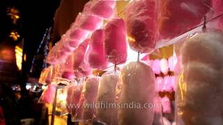 Candy Floss in the carnival of Bengal