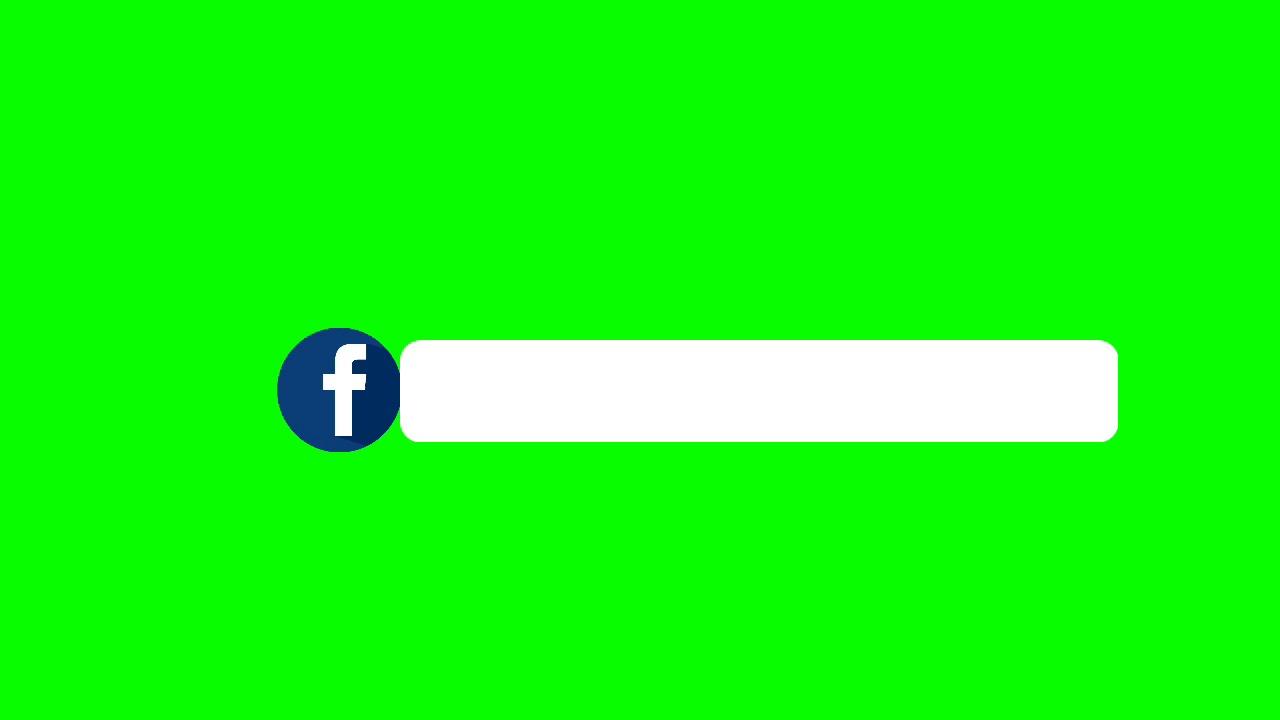 Green Screen Facebook Button For Youtube Youtube Facebook Button Greenscreen Youtube