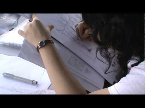 Jossie Lara dibujando.MPG