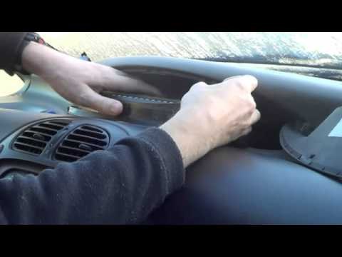 CITROEN XSARA PICASSO REPLACEMENT DASHBOARD BULBS TUTORIAL  YouTube