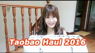 Cheap Taobao (淘宝开箱) Haul unboxing 2016