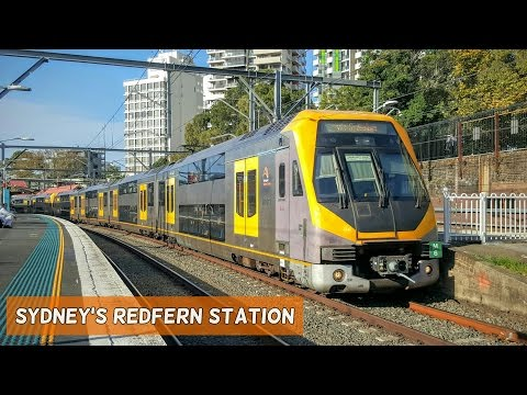 Sydney Trains Vlog 1319: Sydney's Redfern Station
