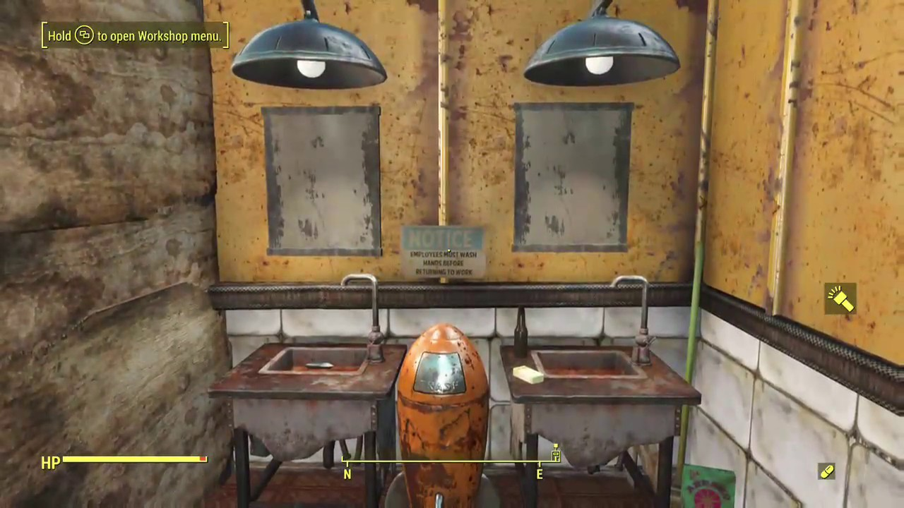 Fallout 4 How To Build Bathroom Mirrors Xbox No Mods Or Dlc S