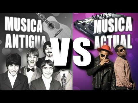 Musica Antigua VS Musica Actual