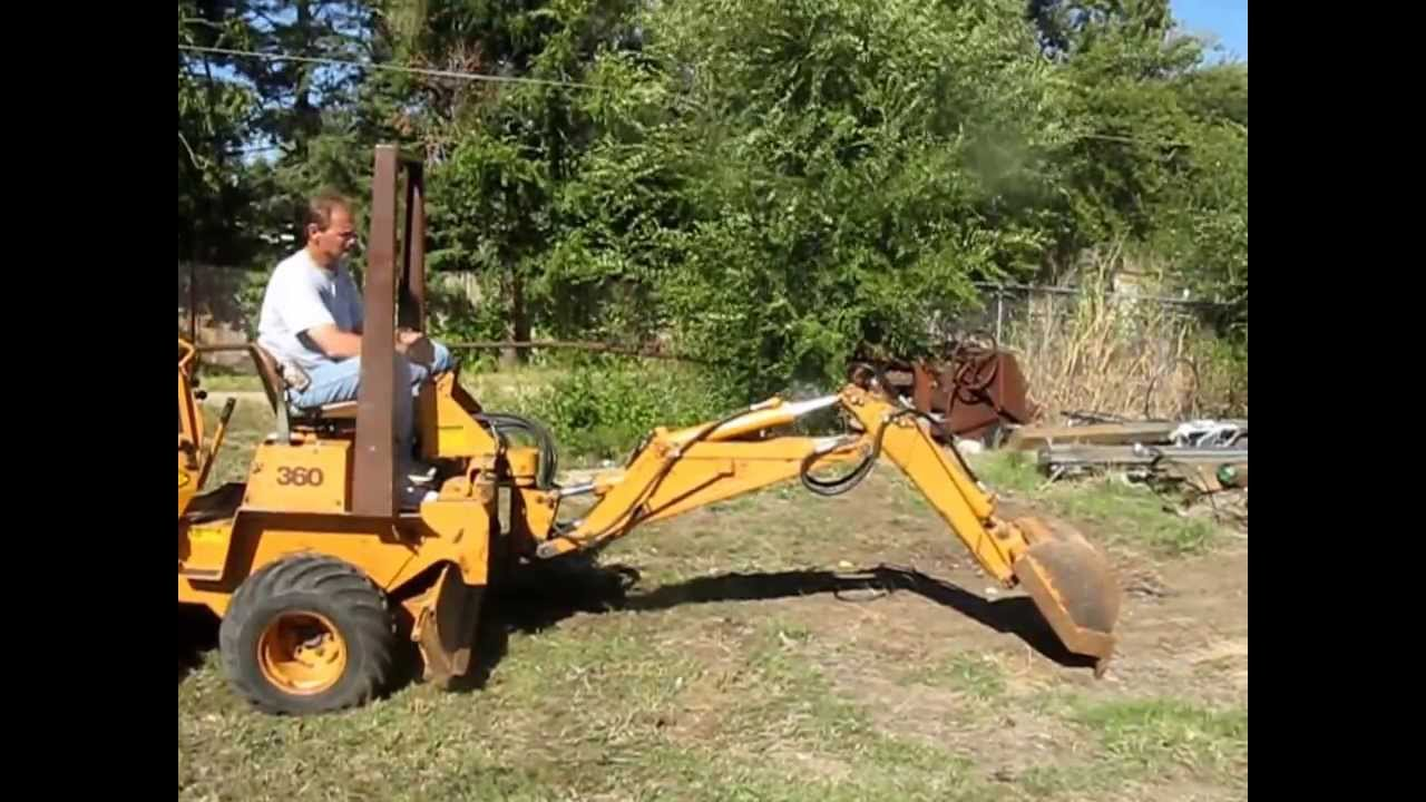 Trencher For Sale >> 1988 Case 360 trencher for sale | sold at auction October 31, 2013 - YouTube