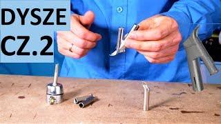Video: Dysza szybkiego spawania na drut okrągły fi5