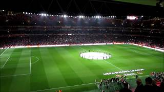 Emirates Stadium Light Show