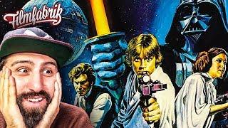 STAR WARS IV: EINE NEUE HOFFNUNG   Kritik & Review   1977 - mit Mark Hamill & Harrison Ford