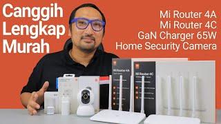 Xiaomi AIoT: Mi Router 4A dan 4C untuk WiFi, GaN Charger 65W, Mi 360 Home Security Camera 2K