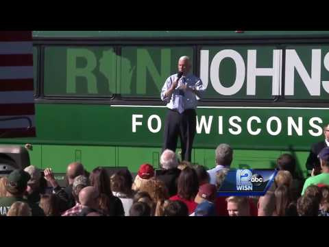 Republican VP nominee speaks at rally in Mukwonago