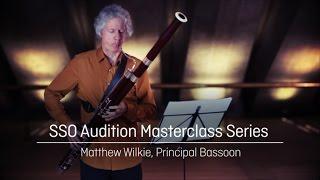 sydney symphony orchestra masterclass bassoon tchaikovsky symphony no 4