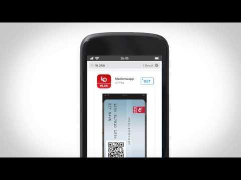 LO Plus medlemskort til mobilen instruktionsvideo - YouTube