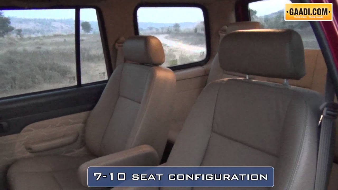 New Chevrolet Tavera Neo 3 Interior - YouTube