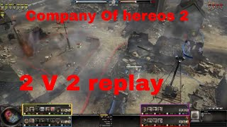 Company of Heroes 2   2v2 replay