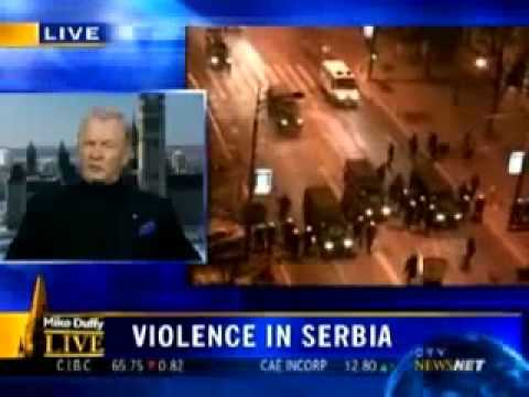 General Lewis Mackenzie  We Bombed The Wrong Side   Kosovo's Independence Immoral