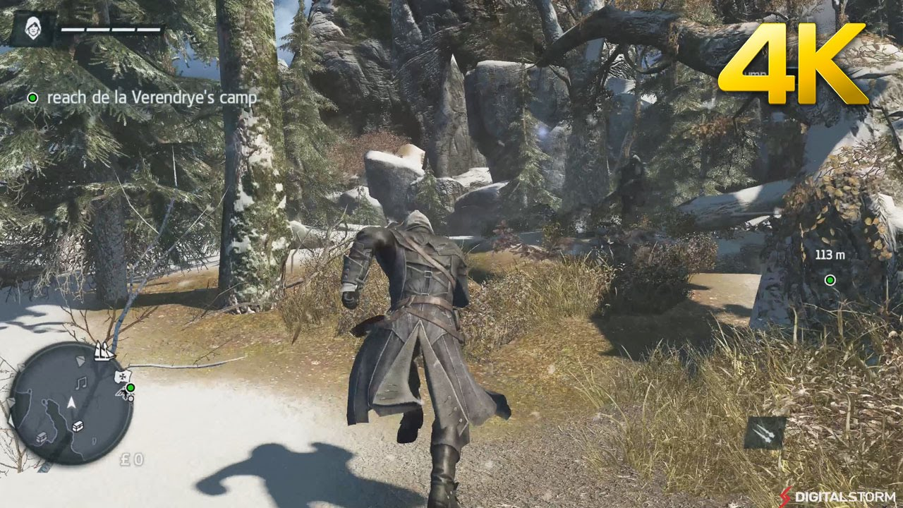 Assassin's Creed Rogue 4K Max Gameplay PC - YouTube
