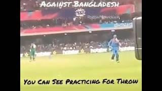 India won by 1 run margin in WorldCup | Rare footage | Dhoni | Bangladesh | bcci |