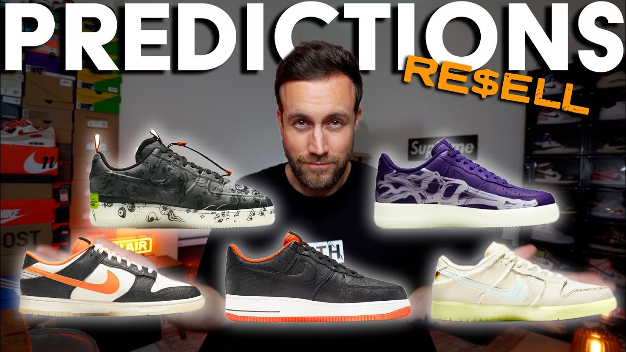 HALLOWEEN SPECIAL 🎃 MUMMY Dunks, AF1 PURPLE SKELETON, EXPERIMENTAL, RETRO PREMIUM Resell Predictions
