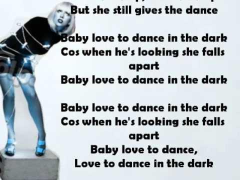 Lady Gaga Dance in the dark (karaoke\instrumental)