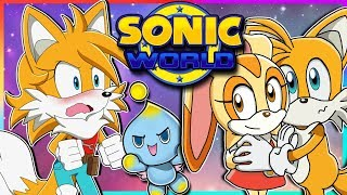Tailsko Meets Cream | Tails Plays Sonic World (Female Tails)