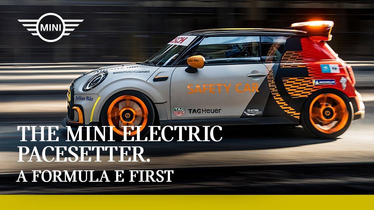 The MINI Electric Pacesetter: A Formula-E First