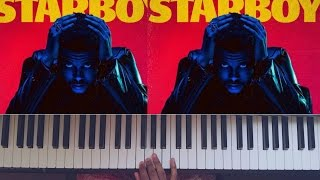 The Weeknd ft. Future - All I Know [ #reggiewatkins piano cover ]