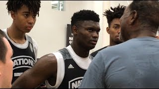 Zion Williamson Plays REAL COMPETITION & DOMINATES!
