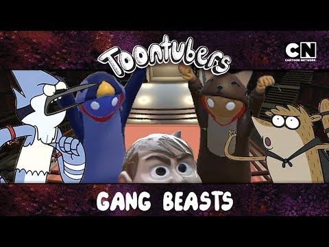Gang Beasts na Toontubers Wrestling Federation: LUTA LIVRE LETAL VIII!   Cartoon Network